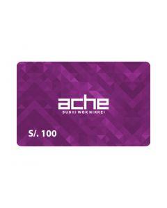 Ache S/. 100