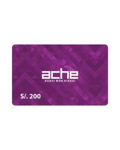 Ache S/. 200