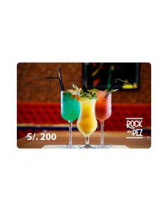 Gift Card Rock and Pez S/200.00