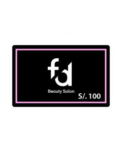 F&D Beauty Salon S/. 100