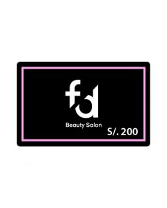 F&D Beauty Salon S/. 200