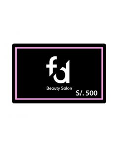 F&D Beauty Salon S/. 500
