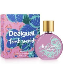 Perfume Fresh World EDT 50 ML Desigual Mujer