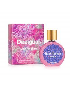 Perfume Fresh Festival EDT 50 ML Desigual Mujer