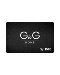 Gift Card G&G Home S/.1500