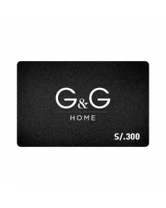 Gift Card G&G Home S/.300