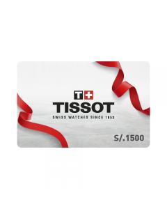 Gift Card Tissot S/.1500