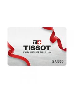 Gift Card Tissot S/.500