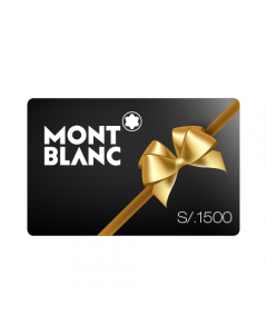 Gift Card Montblanc S/.1500