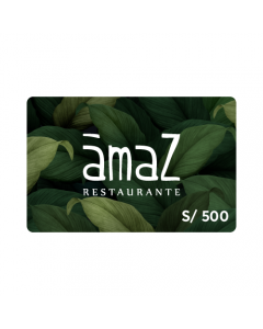 Gift Card Ámaz S/.500