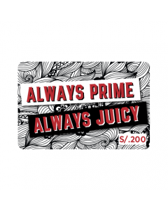 Gif Card Juicy Lucy S/.200