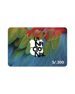 Gift Card La Nacional S/.300