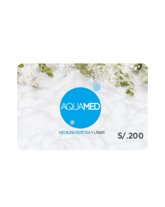Gift Card Aquamed S/. 200