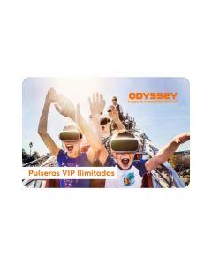 2 Pulseras VIP Ilimitadas - Odyssey