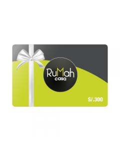 Gift Card Rumah S/. 300