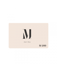 Gift Card Malika S/. 200