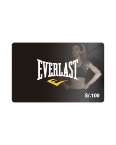 Gift Card Everlast S/. 100