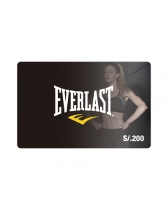 Gift Card Everlast S/. 200