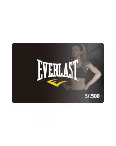 Gift Card Everlast S/. 500