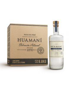 Caja de 6 Botellas Pisco Huamaní Quebranta 700ml