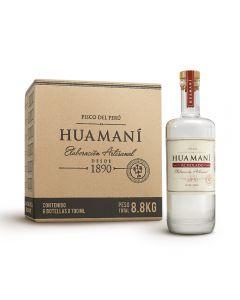 Caja de 6 Botellas Pisco Huamaní Acholado 700ml
