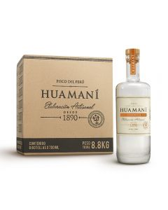 Caja de 6 Botellas Pisco Huamaní Torontel 700ml