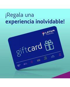 Gift Card $250 USD de uso en oficinas de venta LATAM Travel Perú