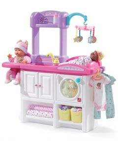 Juego Cuidado del Bebé Infantil STEP2 Rosado