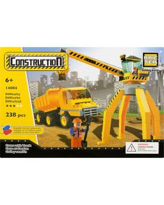 Construction Crane With Truck
