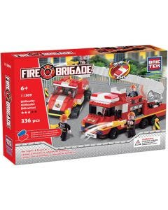 Fire Engine & Road Car With Sound & Light