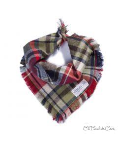 Bandana-Pañuelo para Mascotas Cambridge Talla Medium