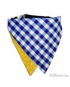 Bandana-Pañuelo para Mascotas Picnic Twist Talla Xsmall