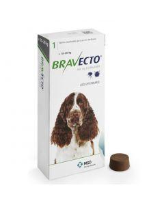 Antipulgas Bravecto 500Mg (10 Kg.- 20 Kg.)