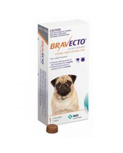 Antipulgas Bravecto 250Mg. (4.5 Kg. - 10 Kg.)