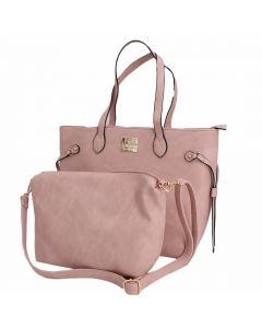 Cartera Tote Bag Rosa