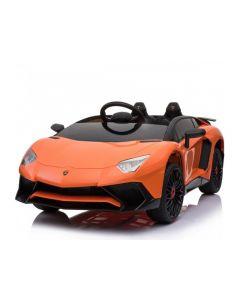 Coche Eléctrico Tipo Lamborghini Genérico Importado Naranja