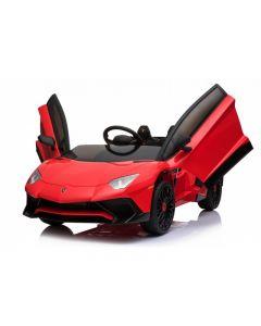 Coche Eléctrico Tipo Lamborghini Rojo