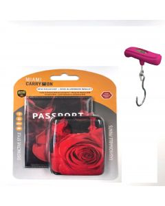 Porta Pasaporte/Balanza Miami Carry On RFIDWSCRS/TRSC02HP