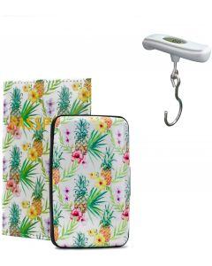 Porta Pasaport/Balanza Miami Carry On RFIDWSPINEAP/TRSC02WH