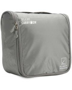 Portacosmeticos Impermeable Miami Carry On TLCWPGY Gris