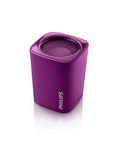 Parlante Philips Bluetooth Bt100V Violeta