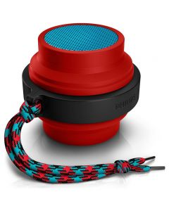 Parlante Philips Bluetooth Bt2000R Rojo