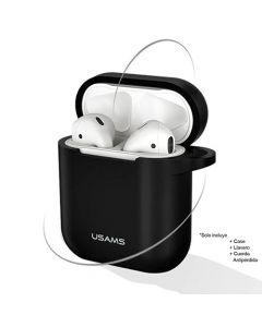 Case Airpod Con Llavero Negro US-BH423 - Usams
