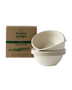 Ecologics Bows Descartables 350Ml