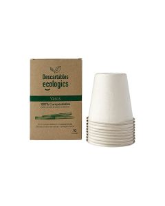 Ecologics Vasos Descartables 13Onz 370Ml