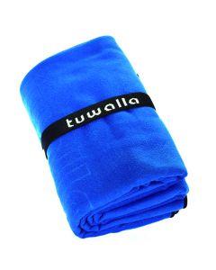 Toalla De Microfibra Tuwalla 90X160Cms. Azul