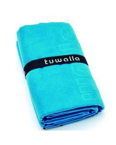 Toalla De Microfibra Tuwalla 90X160Cms. Celeste