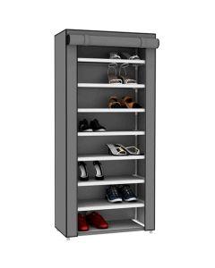 Closet Portatil Zapatos 24 Pares Sunbeam - Gris