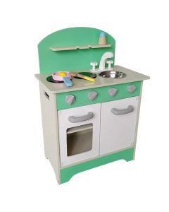 Set De Cocina Verde - Game Power