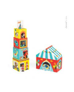 Multi Cubos Circo Janod - Muyu Toys